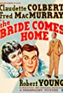 Claudette Colbert, Robert Young, and Fred MacMurray in The Bride Comes Home (1935)