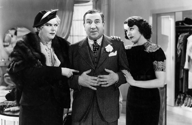 Hugh Herbert, Mary Boland, and Carol Hughes in Marry the Girl (1937)