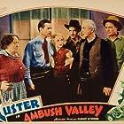 Vane Calvert, Bob Custer, John Elliott, Eddie Phillips, Victoria Vinton, and Hal Taliaferro in Ambush Valley (1936)