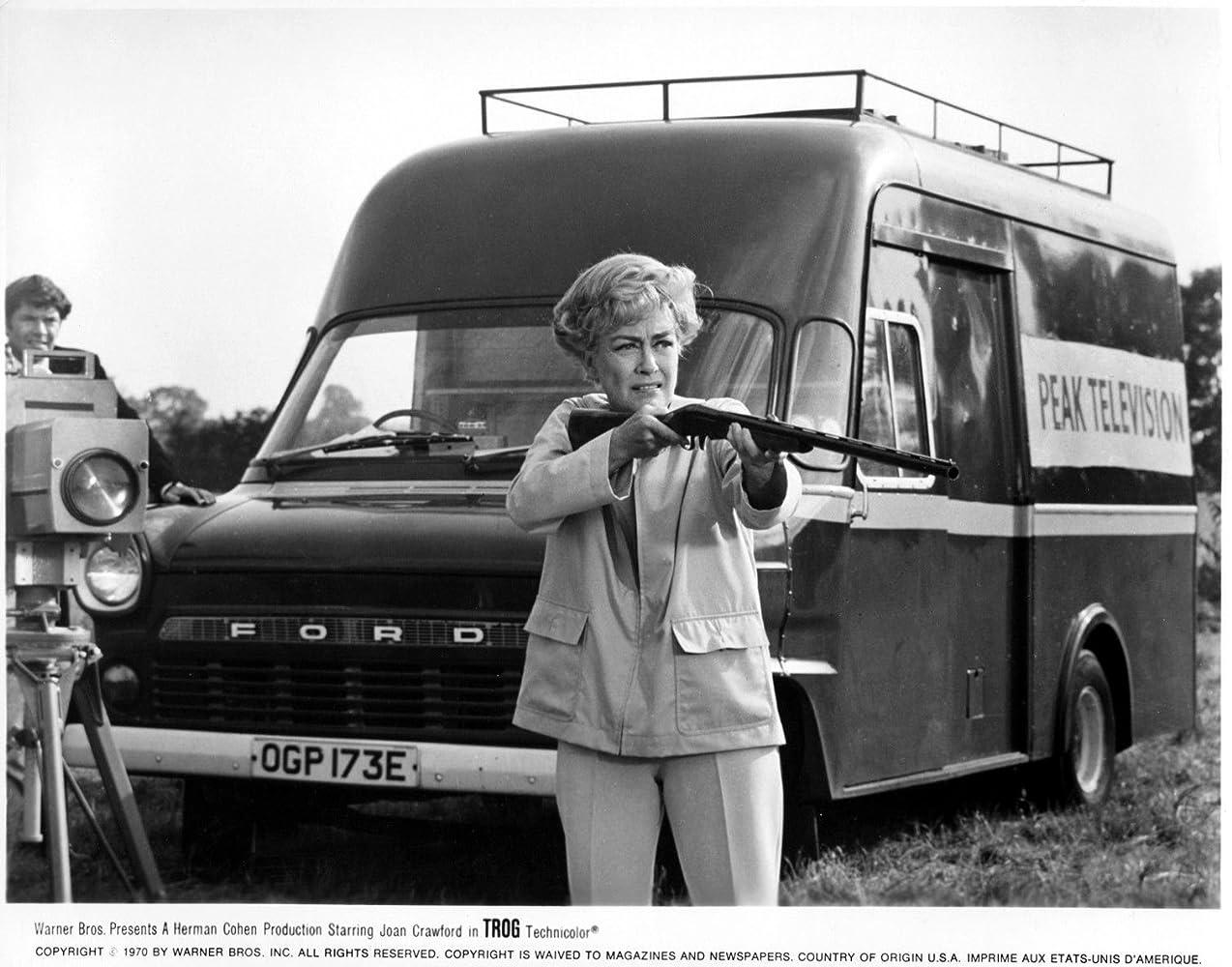 Joan Crawford in Trog (1970)