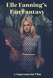 Elle Fanning's Fan Fantasy Poster