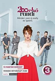 Kata Gáspár, Gábor Kékessy, Ádám Farkas, and András Mészáros in 200 elsö randi (2018)