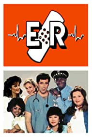 Elliott Gould, Mary McDonnell, Corinne Bohrer, Conchata Ferrell, Shuko Akune, Lynne Moody, and Bruce A. Young in E/R (1984)
