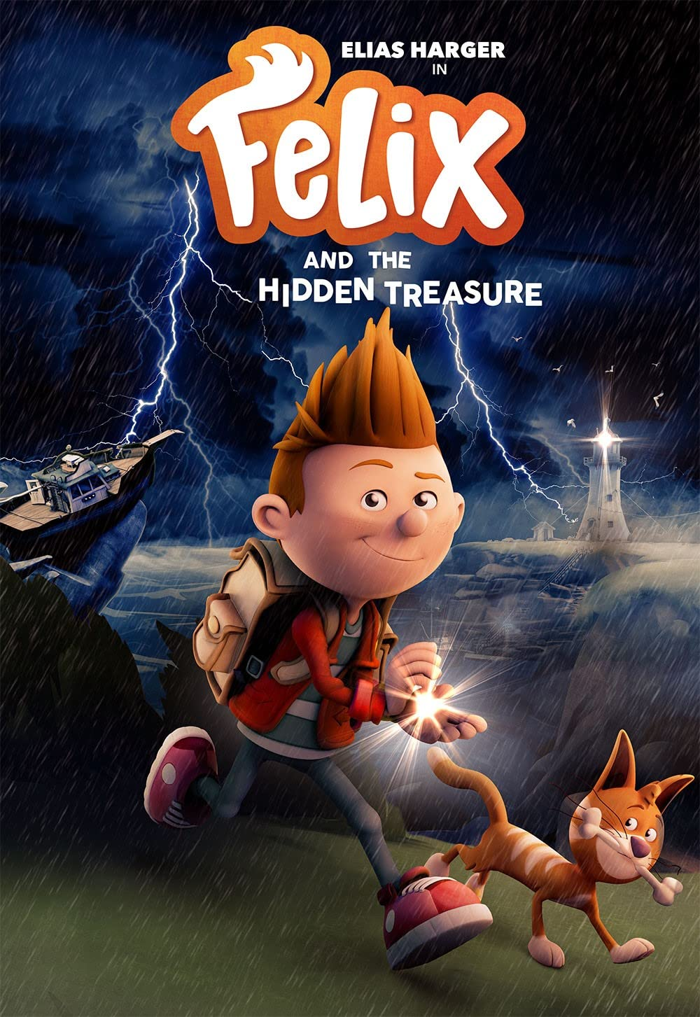Felix and the Hidden Treasure 2021 English 720p HDRip 800MB Download