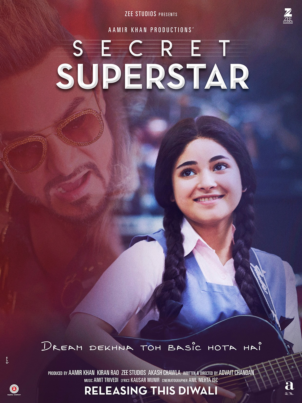 Image result for secret superstar poster hd