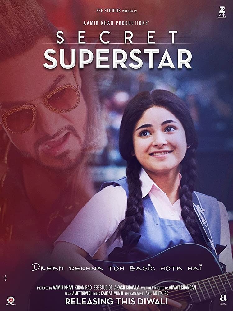Secret Superstar (2017) Hindi
