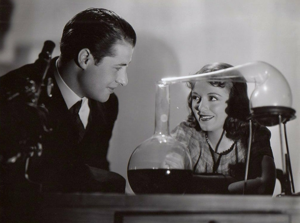 Don Ameche and Janet Gaynor in Ladies in Love (1936)