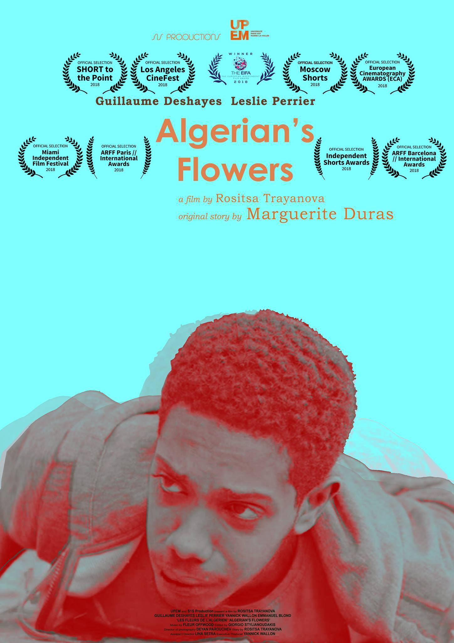 Algerian S Flowers 2017 Imdb