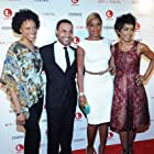 with Lindsay Owen Pierre, Mary J. Blige and Angela Bassett
