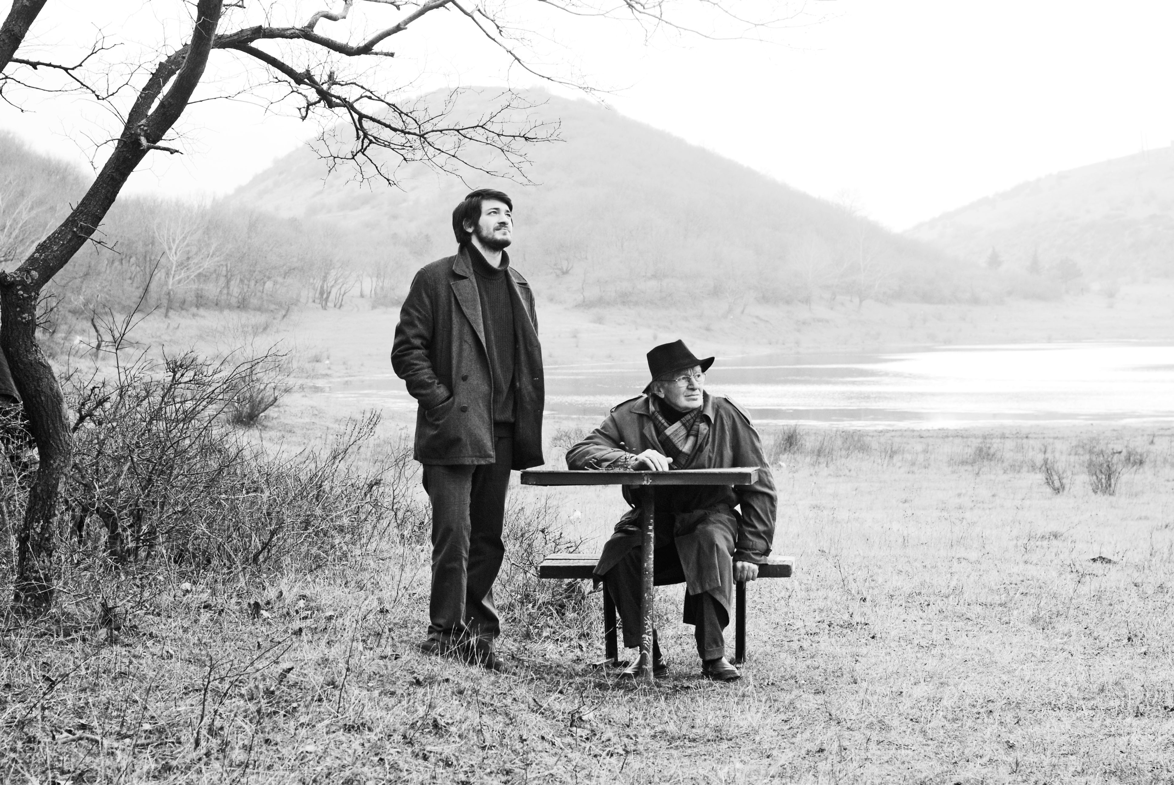 Tornike Gogrichiani and Koka Bziava in Le nid (2011)