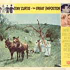 Tony Curtis, Joan Blackman, and Sue Ane Langdon in The Great Impostor (1960)