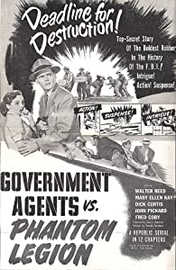 Government Agents vs Phantom Legion