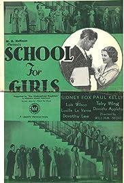 School for Girls Poster