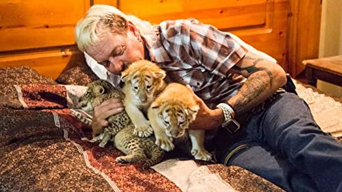 Among the eccentrics and cult personalities in the stranger-than-fiction world of big cat owners, few stand out more than Joe Exotic, a mulleted, gun-toting polygamist and country western singer who presides over an Oklahoma roadside zoo. Charismatic but misguided, Joe and an unbelievable cast of characters including drug kingpins, conmen, and cult leaders all share a passion for big cats, and the status and attention their dangerous menageries garner. But things take a dark turn when Carole Baskin, an animal activist and owner of a big cat sanctuary, threatens to put them out of business, stoking a rivalry that eventually leads to Joe's arrest for a murder-for-hire plot, and reveals a twisted tale where the only thing more dangerous than a big cat is its owner.  Only on Netflix.