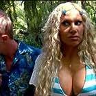 Diana Terranova and Matthew Scott Townsend in Piranhaconda (2012)