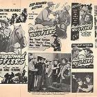 Tom London, Ray Corrigan, John 'Dusty' King, Bud Osborne, and Max Terhune in Underground Rustlers (1941)