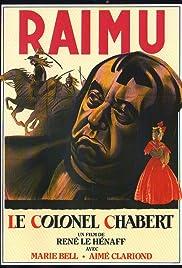 Le colonel Chabert Poster