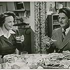 Ingrid Backlin and Gunnar Björnstrand in Flickan från tredje raden (1949)