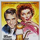 Cary Grant, Katharine Hepburn, Asta, and Nissa the Leopard in Bringing Up Baby (1938)