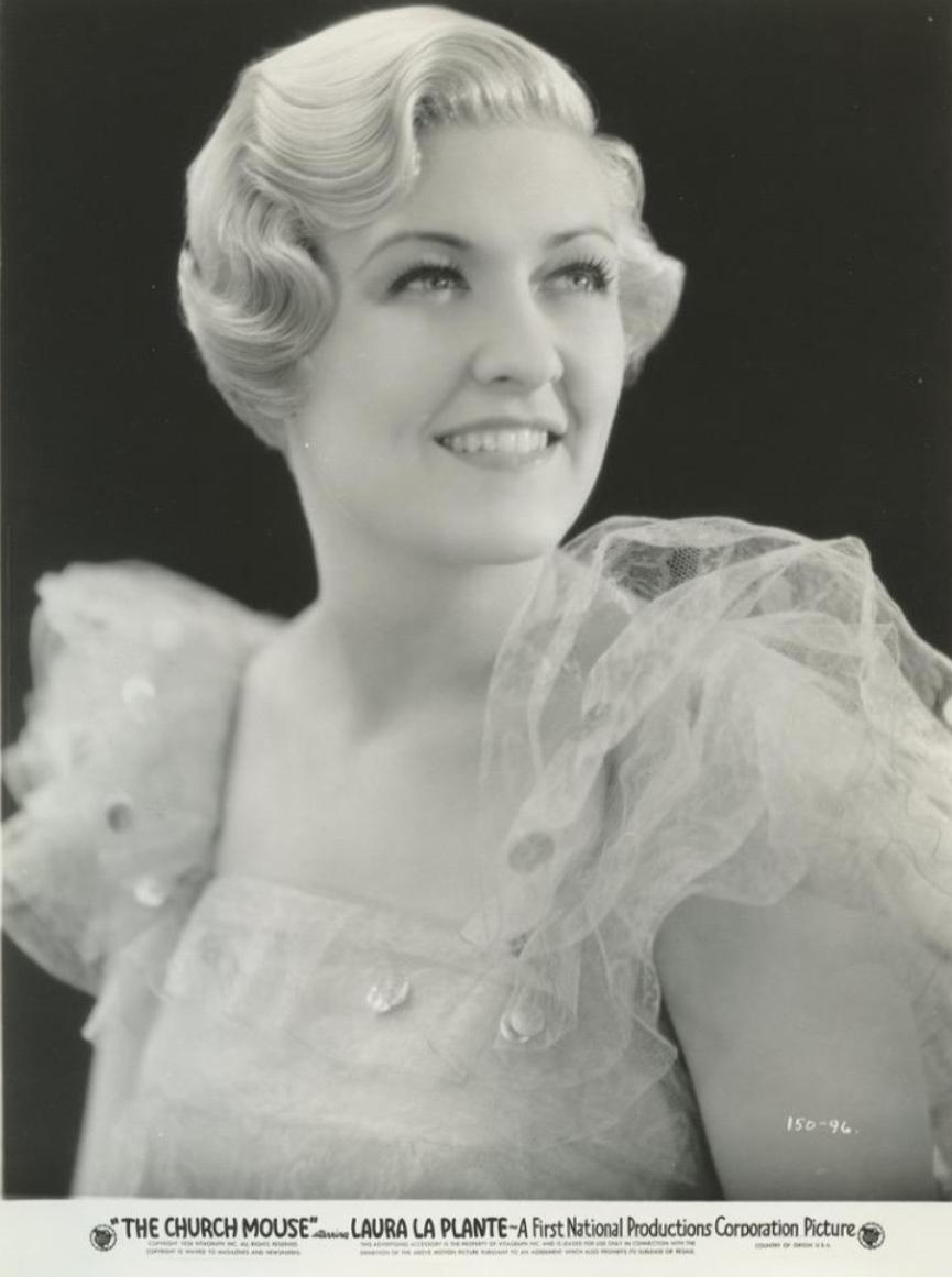 Laura La Plante in The Church Mouse (1934)