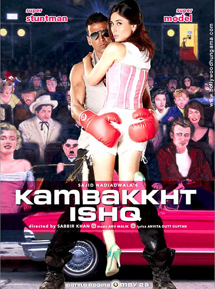 Download Kambakkht Ishq (2009) Hindi Full Movie BluRay 480p [300MB] | 720p [1GB] | 1080p [5.5GB]
