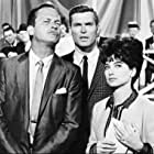 Ty Hardin, Ralph Meeker, and Suzanne Pleshette in Wall of Noise (1963)