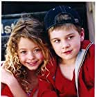 Sasha Pieterse & Luke Benward on the set of Family Affair.
