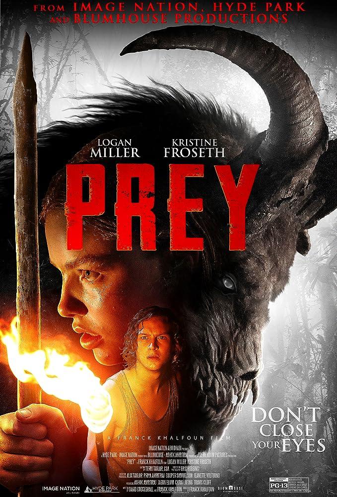 Prey (2019) English WEBRip 720p & 480p [Hindi (Subs)] | Full Movie [Cordes]