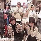 Yôko Hikasa, Ai Kakuma, Yuuki Kuwahara, Yumiri Hanamori, and Toshinari Fukamachi at an event for Arifureta Shokugyou de Sekai Saikyou (2019)