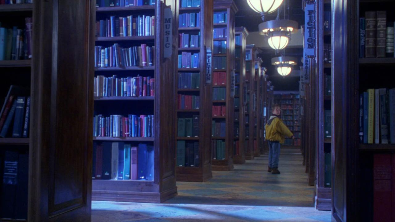 The Pagemaster Library