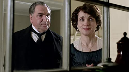 Downton Abbey: Mr. Cars And Cora Watch As Lady Sybil Makes A Cake.