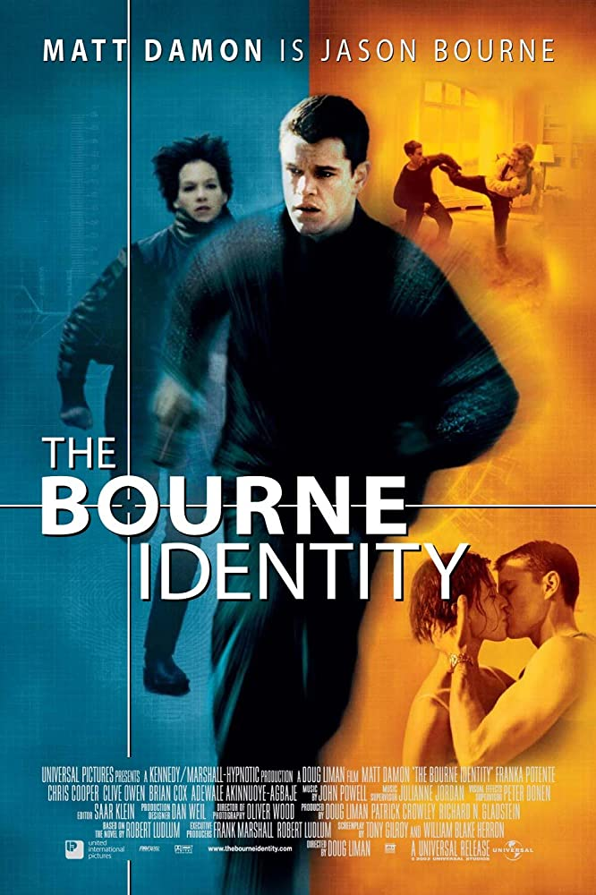 The Bourne Identity 2002 Dual Audio Hindi ORG 450MB BluRay ESub Download