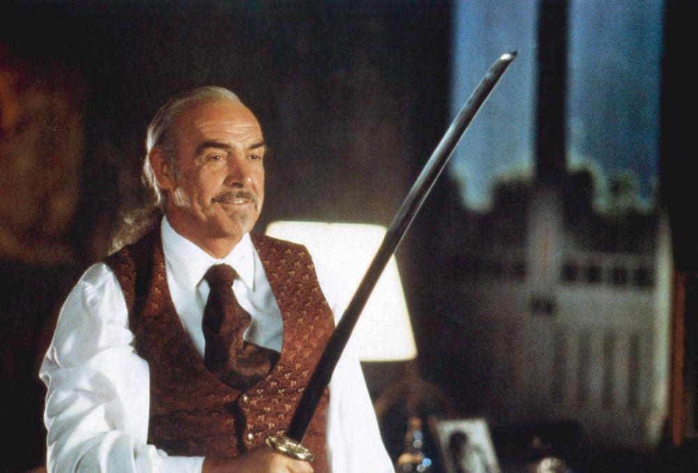 Sean Connery in Highlander II: The Quickening (1991)