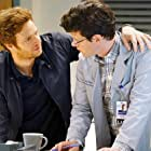 Nick Gehlfuss and Peter Mark Kendall in Chicago Med (2015)