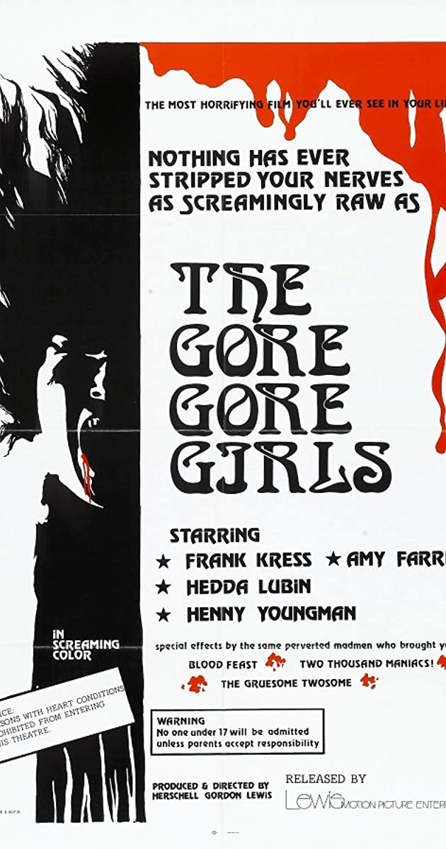 Subtitle of The Gore Gore Girls
