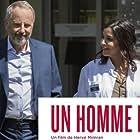 Fabrice Luchini and Leïla Bekhti in Un homme pressé (2018)