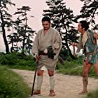 Shintarô Katsu and Kunie Tanaka in Zatôichi abare-himatsuri (1970)