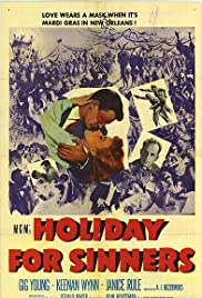 Holiday for Sinners Poster
