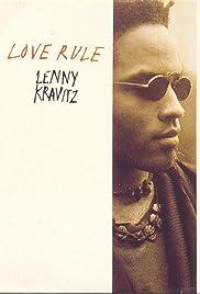 Lenny Kravitz: Let Love Rule - Version 2 Poster