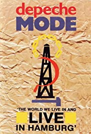 Depeche Mode: 'The World We Live in and Live in Hamburg' Poster