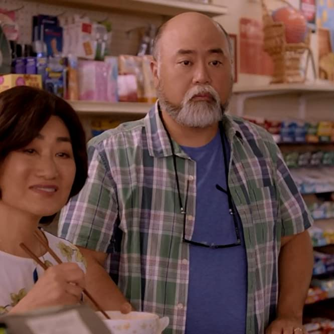 Paul Sun-Hyung Lee and Jean Yoon in Kim's Convenience: Which Witch is Which (2020)