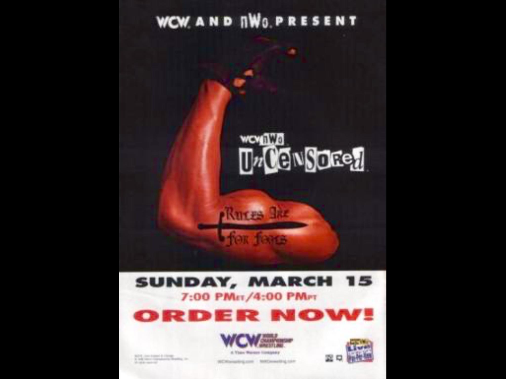 WCW/NWO Uncensored (1998) - IMDb