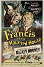 Francis in the Haunted House (1956) Poster