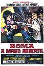 Maurizio Merli and Tomas Milian in Roma a mano armata (1976)