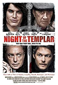 David Carradine, Udo Kier, and Norman Reedus in Night of the Templar (2013)