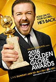 73rd Golden Globe Awards Poster