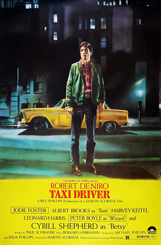 Taxi Driver Movie Poster (1976)