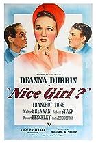 Nice Girl? (1941) Poster