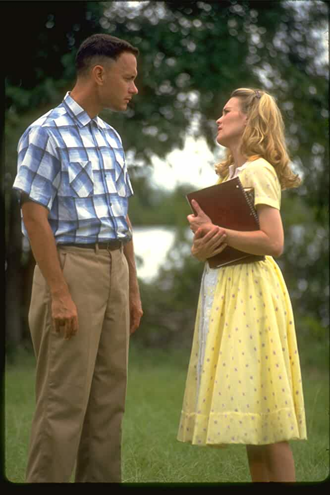 Tom Hanks and Robin Wright in Forrest Gump 1994