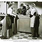 Edgar Buchanan, Macdonald Carey, Alexis Smith, and Houseley Stevenson in Cave of Outlaws (1951)